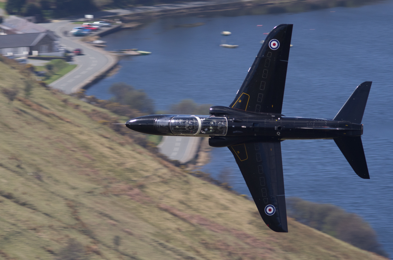 Hawk at Mach Loop, Corris Corner